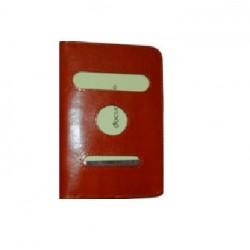 Porta passaporti in vero cuoio.